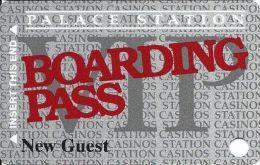 Palace Station Casino Las Vegas NV Slot Card - NEW GUEST Printing - Casino Cards