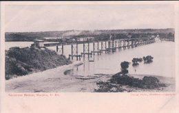 Mozambique, Macupa, Salisbury Bridge, Chemin De Fer, Train à Vapeur (1007) - Mozambique