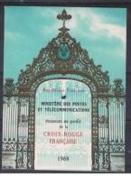 C 13 - CARNET CROIX-ROUGE 1968 Neuf** 1er Choix Avec Oblitération Croix-Rouge - Markenheftchen