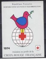C 10 - CARNET CROIX-ROUGE 1974 Neuf** 1er Choix - Markenheftchen
