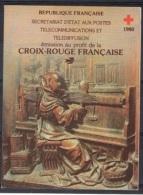 C 4 - CARNET CROIX-ROUGE 1980 Neuf** 1er Choix - Booklets