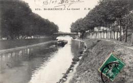 CPA SAINT MAURICE - LE CANAL - Saint Maurice