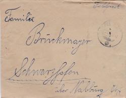 Feldpost WW2: 3. Schwadron Aufklarungs-Abteilung 46 Der 46. Infanterie-Division  FP 18190 P/m 3.1942 - Letter Inside Sig - Militaria