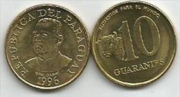 Paraguay 10  Guaranies 1996. UNC KM#178a FAO - Paraguay