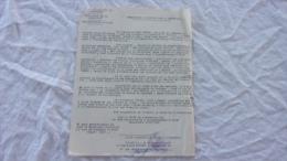 ATESTATION D ACTIVITE DANS LA RESISITANCE FFI CORPS FRANS DE LA LIBERATION ARRONDISSEMENT D ARLES - Documenti