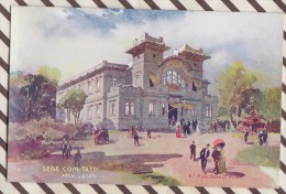 6AI880 ILLUSTRATEUR PALANTI EXPOSITION 1906 MILANO SEDE COMITATO  2 SCANS - Illustrateurs & Photographes