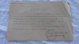 NOMINATION AU GRADE DE SOUS LIEUTENANT DANS LES FFI D ARLES EN SEPTEMBRE 1944 - Documenti