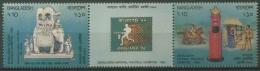 Bangladesch 1992 Briefm.-Ausstellung BANGLAPEX '92 427/28 ZD Postfrisch (C11634) - Bangladesch
