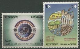 Bangladesch 1992 UNO-Konferenz Umwelt U. Entwicklung 415/16 Postfrisch - Bangladesch