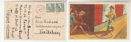 1948 Malmo SWEDEN Stamps COVER (postcard CARTOON) - Sweden