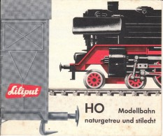 Liliput Neuheiten - Katalog - Spur HO