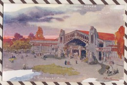 6AI889 ILLUSTRATEUR PALANTI EXPOSITION 1906 MILANO AGRARIA 2 SCANS - Illustrateurs & Photographes