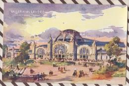 6AI890 ILLUSTRATEUR PALANTI EXPOSITION 1906 MILANO GALLERIA DEL LAVORO 2 SCANS - Illustrateurs & Photographes