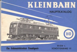 Kleinbahn Hauptkatalog Für HO, - 1959 - Spur HO