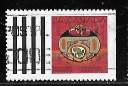 CANADA 1990, USED # 1297, NATIVE NATIVITY: REBIRTH    USED - 1952-.... Règne D'Elizabeth II