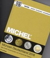 Münzkatalog MICHEL Deutschland 2016 Neu 27€ Mit DR Ab 1871 III.Reich BRD DDR Numismatik Coin Catalogue 978-3-95402-144-4 - Telefonkarten