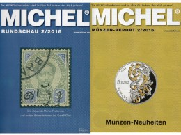 MICHEL Briefmarken Rundschau 2/2016 Neu 6€ New Stamps Of The World Catalogue/ Magacine Of Germany ISBN 978-3-95402-600-5 - Old Paper