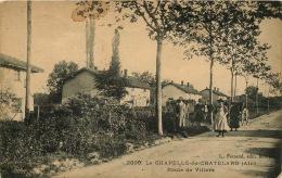 01  LA CHAPELLE Du CHATELARD Route De Villars  JAMAIS VUE SUR DELCAMPE - Frankrijk