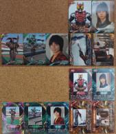 Kamen Rider Kiva : 7 Japanese Trading Cards - Trading Cards