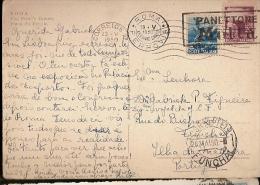 Italy & Bilhete Postal, Piazza Del Popolo, Panettone Motta, Roma Via Ferrovia, Funchal Madeira Portugal 1950 (26) - 6. 1946-.. Repubblica