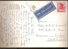 Italy & Bilhete Postal, Museo Nazionale, Firense, Via Aérea, Lisboa Portugal  1962 (28) - 6. 1946-.. Republic