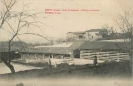 """.CPA FRANCE 26 """"Hostun, Usine De Boulogne, Séchoirs Et Bassins"""" - Otros Municipios"""