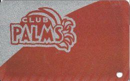 Palms Casino Las Vegas NV - BLANK Club Plams Slot Card - Exp 3/31/06 Series - Casino Cards