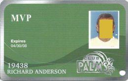 Palms Casino Las Vegas NV - MVP With Photo Slot Card - Exp 04/30/08 - Casino Cards