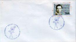 Peru 1990 Cover Special Postmark Ballet Coppelia - Peru