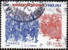France Oblitération Cachet à Date N° 4889 Mobilisation Générale - Used Stamps