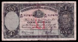 Australia 1 Pound 1942 P.26b VG+ - Pre-decimal Government Issues 1913-1965