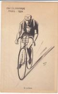 83587 - CP Cyclisme VIII OLYMPIADE PARIS  1924 TB - Cyclisme