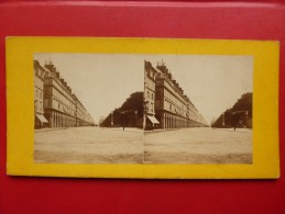 PARIS  RUE DE RIVOLI  PHOTO STEREO - Photos Stéréoscopiques