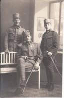 3 Uniformierte Kaiserjäger Mit Unterschriften Auf Rückseite - 1914-18