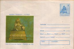 Romania - Postal Stationery Cover,unused 1988 - Second Empire Style Clock Nineteenth Century - France - Horlogerie