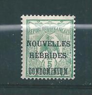 Colonie Timbres De Nouvelles Hébrides De 1910  N°15  Neufs * - Nuovi