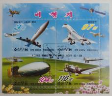 North Korea : 4 Used Stamps - Korea, North
