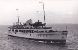 SHIPPING PHOTOGRAPH - QUEEN OF THE CHANNEL - Steamers
