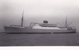 SHIPPING PHOTOGRAPH - PRETORIA CASTLE - Steamers