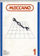 G-I-E , Notice MECCANO , N° 1 , 20 Pages ,  2 Scans ,  Frais Fr : 2.55€ - Meccano