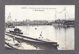 DIEPPE...tri-centenaire De Duquesne ..(1610-1910)....bassin Duquesne.. ..animée - Dieppe