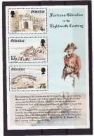 Gibraltar 1983 Cat. Yvert N° BF7**  Forteresse De Gibraltar Au 18e Siècle - Gibilterra