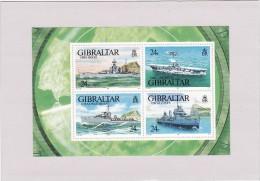 Gibraltar 1993 Cat. Yvert BF N°17**  Navires De Guerre - Gibilterra