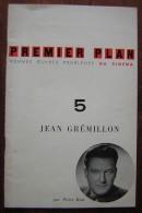 Premier Plan  Janvier 1960 Revue Cinématographique Avec Pour Thème Jean Grémillon - Cinéma