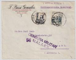 1937, Malaga, Zensur  , #5214 - Nationalistische Ausgaben
