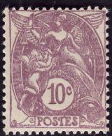 FRANCE  1929  -  Y&T  233 -  Type Blanc 10c - NEUF**  -  Cote 7.65e - 1900-29 Blanc