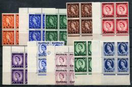 1952-BAHRAIN-ELIZABETH-OVERPRINT- 10 VAL.M.N.H.- LUXE !! - Bahrain (1965-...)