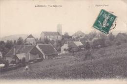 AUDEUX 25 VUE GENERALE L'EGLISE  BELLE CARTE RARE !!! - Autres Communes