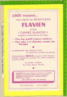 BUVARD :Amis Voyants Achetez Les Productions FLAVIEN  Marque CANNES BLANCHES - Buvards, Protège-cahiers Illustrés