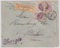 1897, 25 B., 3 Werte, Reco   , #5207 - 1881-1918: Charles I